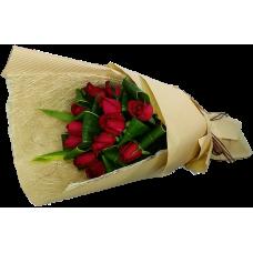Elegant Love  One Dozen Roses Bouquet  Valentines Day