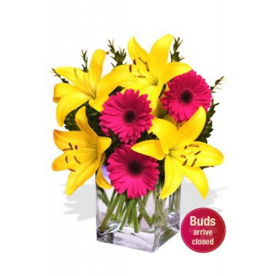 Gerbera and Lily Bouquet