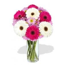 Gerbera and Chrysanthemum Bouquet