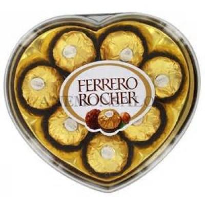 Ferrero Rocher Chocolate  Heart Shape T8