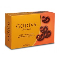 Godiva Milk Chocolate Covered Pretzels