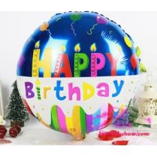 Happy Birthday Round Balloon